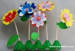 小野花的折法步骤 手工漂亮小花的折纸图解教程