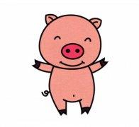 可爱的小猪简笔画怎么画小猪图片