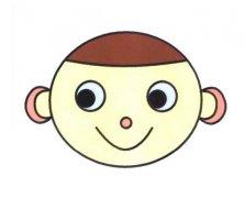可爱小男孩表情简笔画的画法图片大全