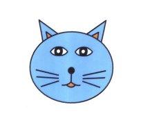 猫脸表情简笔画的画法图片大全
