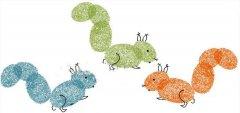 松鼠手指画怎么画 松鼠手印画的画法图片