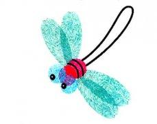 蜻蜓怎么画 儿童手指画教程蜻蜓的画法步骤
