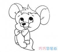 卡通杰瑞的画法简单好看 杰瑞简笔画图片