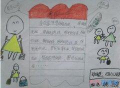 小学二年级孝在心中向日葵手抄报怎么画简单漂亮
