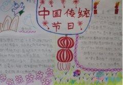 中国传统节日小报,优秀中华传统文化手抄报简单漂亮