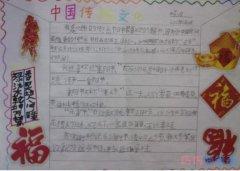 中国传统文化传统国学经典手抄报简笔画怎么画四年级