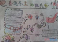 三年级喜迎冬至回归民俗手抄报怎么画简单又好看