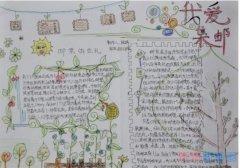 关于我爱集邮,小学生集邮手抄报怎么画简单又好看