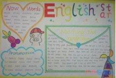 关于英语小明星英文手抄报简笔画怎么画简单漂亮