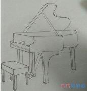 教你一步一步绘画钢琴简笔画简单漂亮