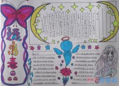 小学生关于珍爱生命远离毒品的手抄报模板简单漂亮