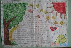 关于绿色地球保护环境的手抄报怎么画简单漂亮