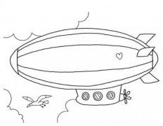 如何画热气球简笔画 热气球的画法步骤教程