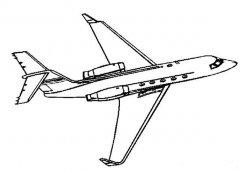 怎么画飞机简笔画的画法步骤教程简单好看