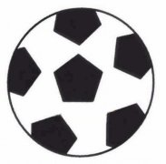 足球简笔画画法怎么画简单好看