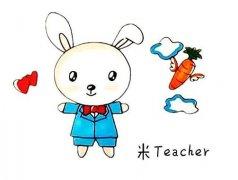 怎么画吃胡萝卜的小兔子简笔画画法步骤教程