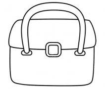 公文包简笔画图片 公文包怎么画简单又好看