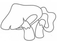 蘑菇的画法图解教程 蘑菇简笔画怎么画