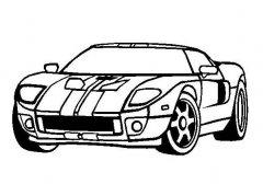 小学生跑车的画法图解教程 跑车简笔画图片