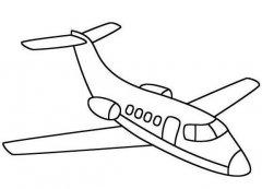 小学生飞机简笔画怎么画 飞机的画法教程