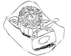 手绘月饼的画法简单 中秋节简笔画图片