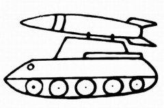 怎么画坦克简单又好看 坦克简笔画图片