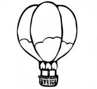 一步一步绘画热气球 简笔画简单漂亮