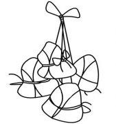 粽子的画法步骤教程 端午粽子简笔画